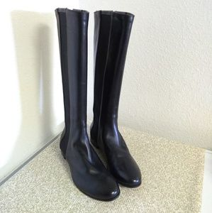 Jimmy Choo London Black Leather Boots